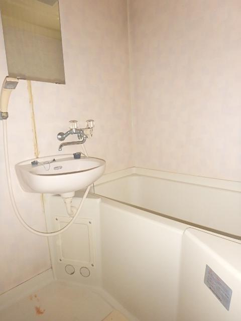 メゾンハピネス 201号室の洗面所