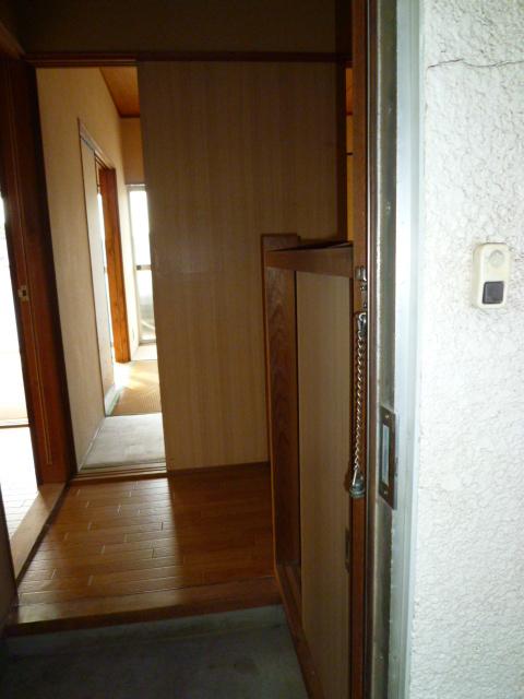 道野辺サンハイツ 206号室の玄関
