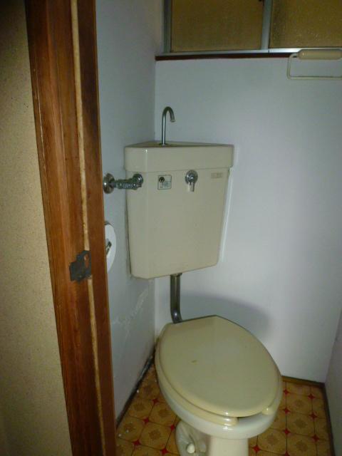 道野辺サンハイツ 206号室のトイレ