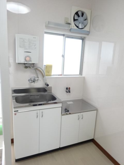 第三道野辺コーポ 202号室のキッチン