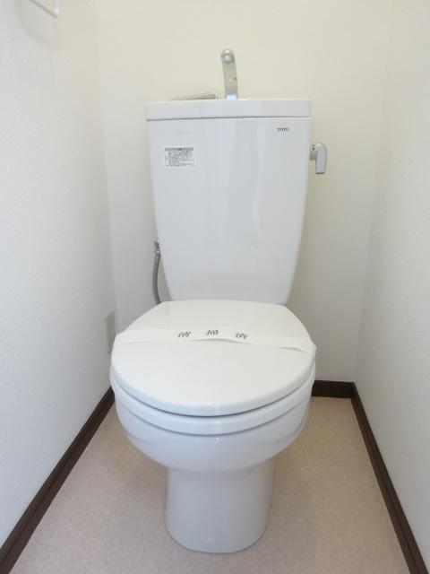 第三道野辺コーポ 202号室のトイレ