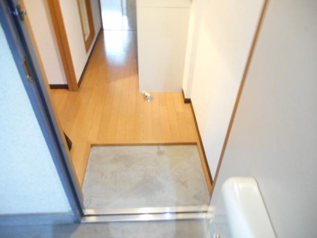 津賀マンション 302号室の玄関