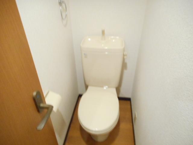 津賀マンション 302号室のトイレ