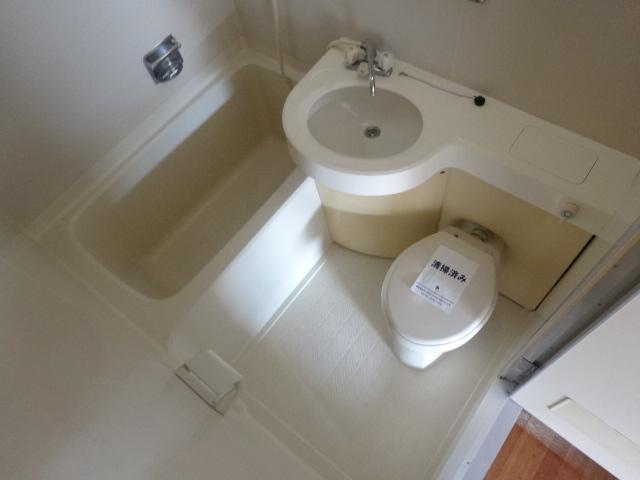 グリーンヒルズ 207号室の風呂