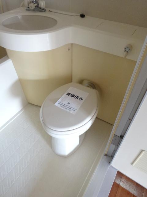 グリーンヒルズ 207号室のトイレ