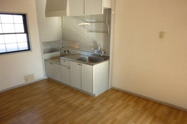 藤コーポC棟 203号室のキッチン