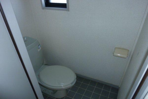藤コーポC棟 203号室のトイレ