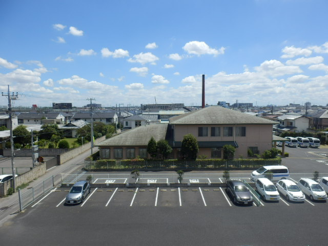 ウィンドヒル鎌ケ谷 603号室の眺望