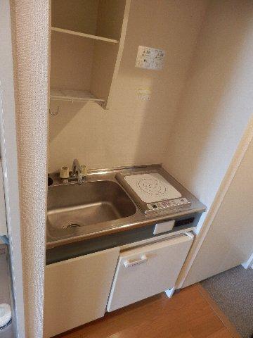鎌ケ谷ハイツ 304号室のキッチン