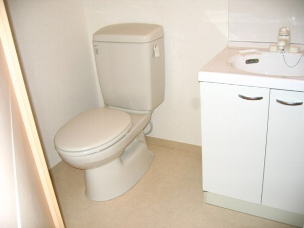 らふぃね壱番館 202号室のトイレ