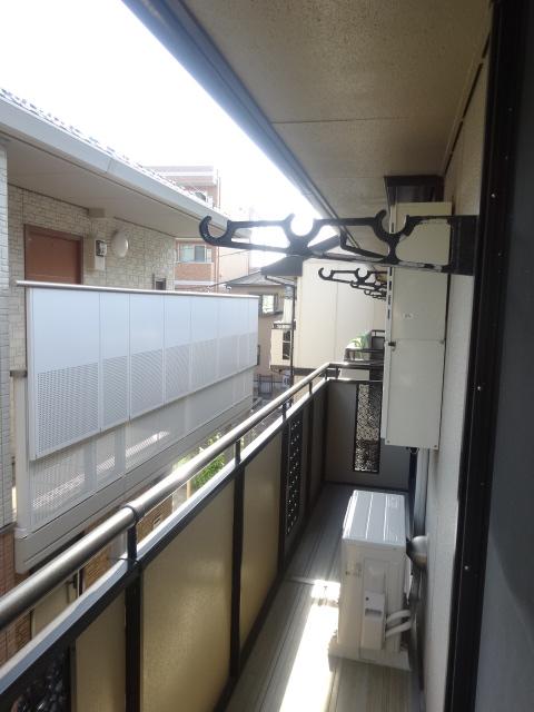 カーザベルデ 102号室のバルコニー