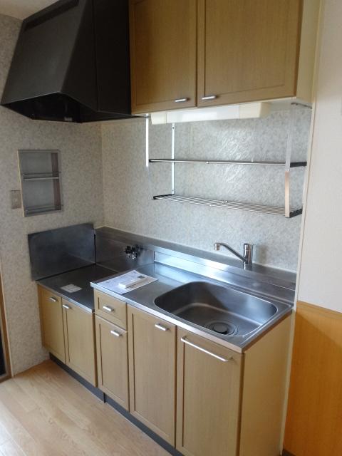 カーザベルデ 102号室のキッチン