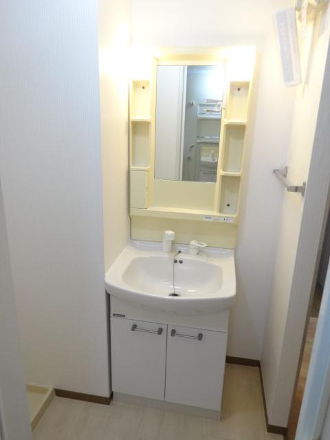 カーザベルデ 102号室の洗面所