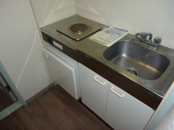 藤コーポE棟 303号室のキッチン