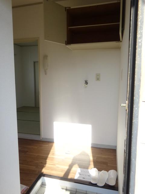 タウンコート馬込沢 203号室の玄関