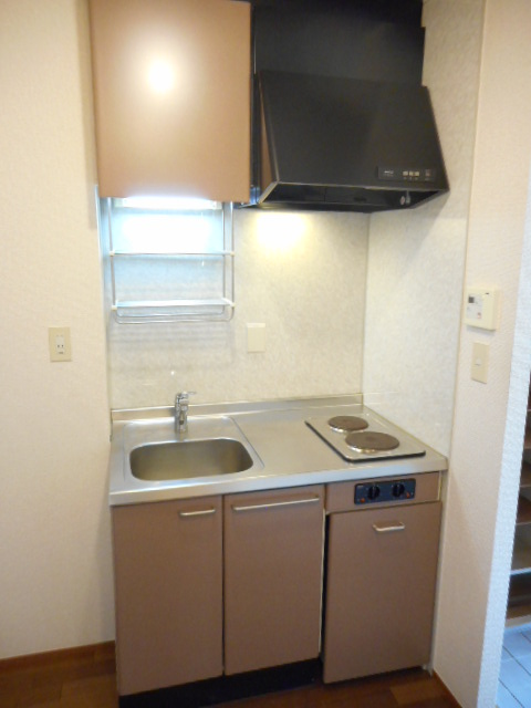 ペガサスⅢ 101号室のキッチン