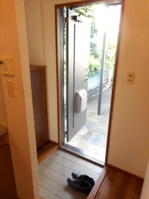 ペガサスⅢ 101号室の玄関