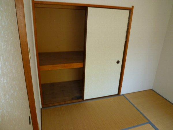パークサイド1 105号室の収納