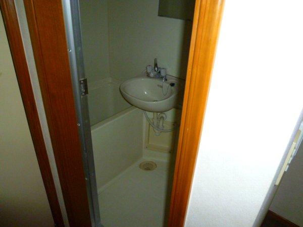 パークサイド1 105号室の風呂