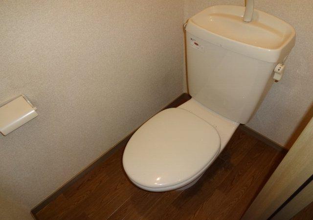 サンダイヤコーポ 105号室のトイレ