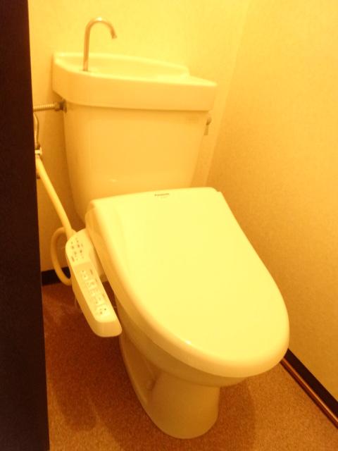 若葉ハイツ 102号室のトイレ