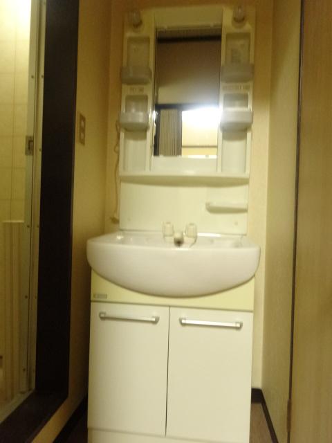 若葉ハイツ 102号室の洗面所