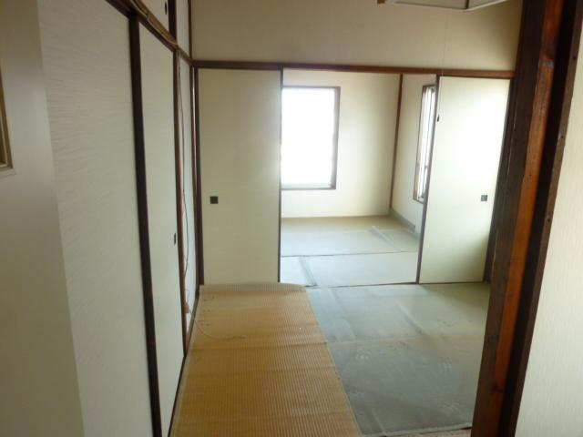 齊藤マンション 201号室のリビング