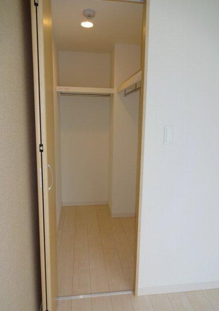 リブリ・MIYABI 108号室の収納