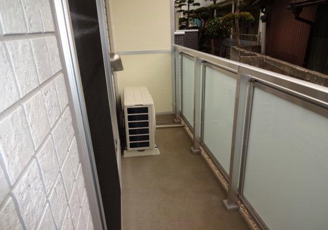 リブリ・MIYABI 108号室のバルコニー