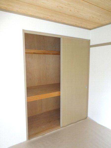 サザンハートC棟 101号室の収納
