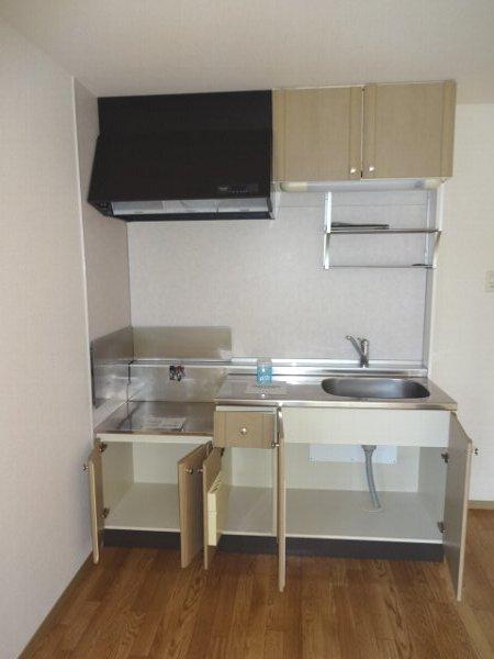 サザンハートC棟 101号室のキッチン