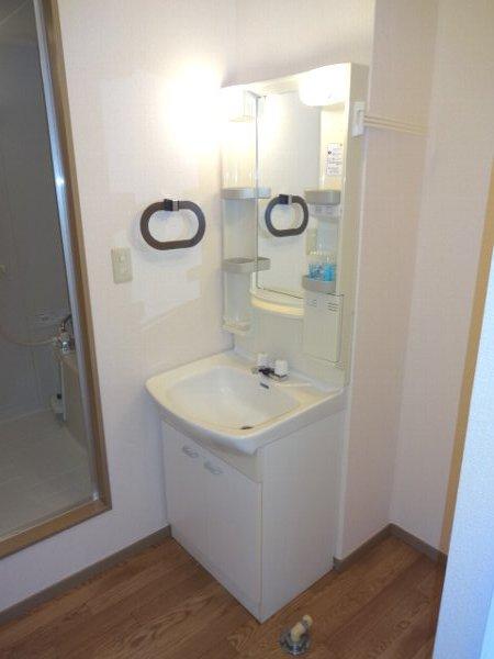 サザンハートC棟 101号室の洗面所