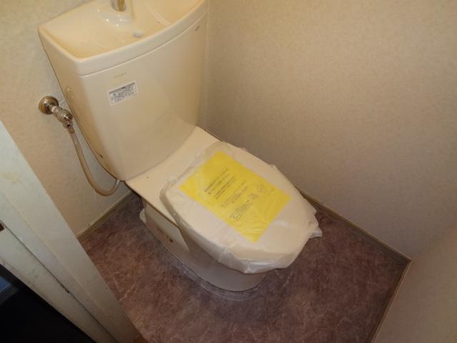 リーフ鎌ケ谷 102号室のトイレ