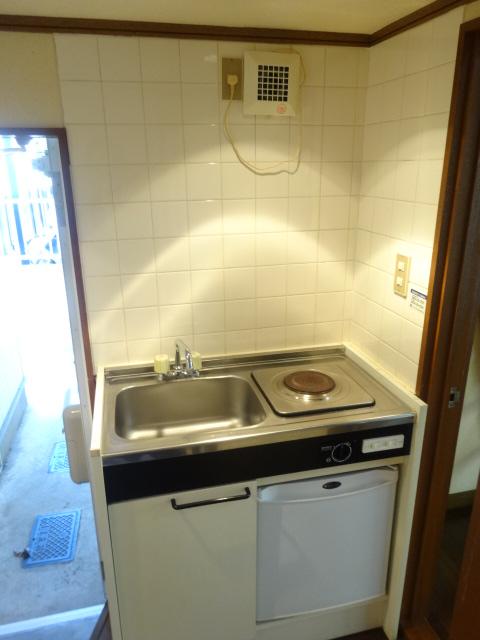 Split 101号室のキッチン