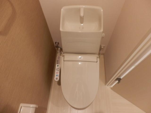 ハイ・レジデンス 101号室のトイレ