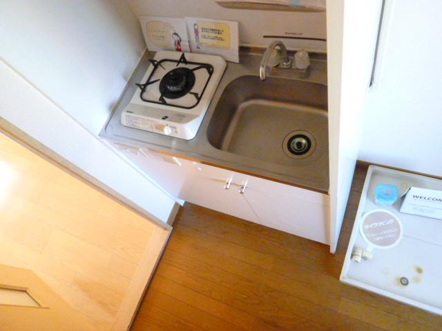 パティオ 305号室のキッチン