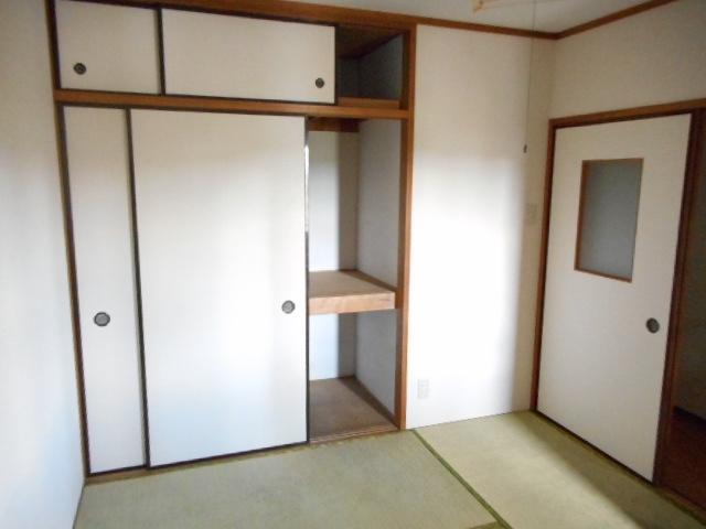 アパートメント21 105号室の収納