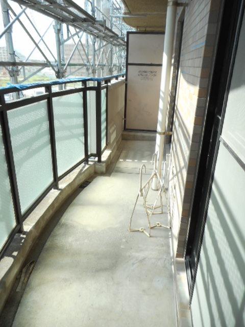 ブランシェ塚田 113号室のバルコニー
