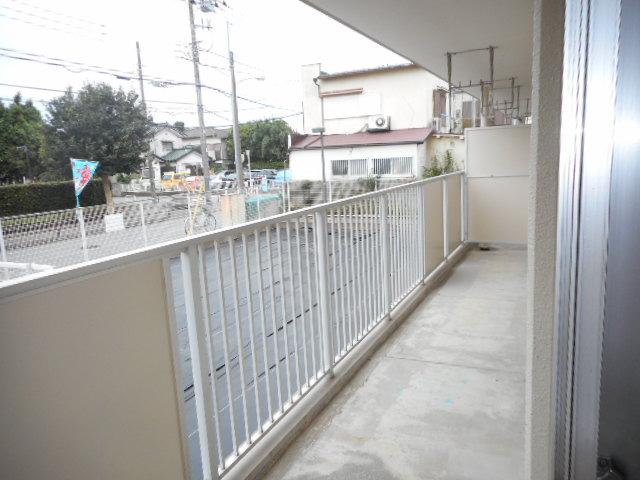 キャストロ鎌ヶ谷 103号室のバルコニー