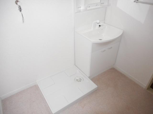 キャストロ鎌ヶ谷 203号室の洗面所