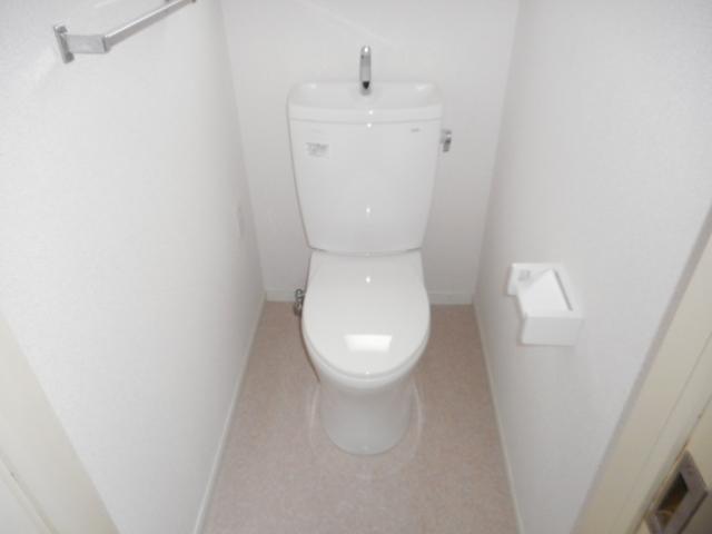 キャストロ鎌ヶ谷 203号室のトイレ