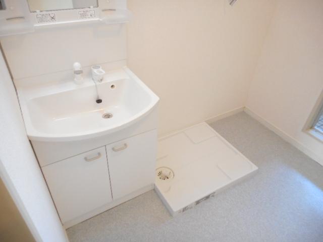キャストロ鎌ヶ谷 202号室の洗面所