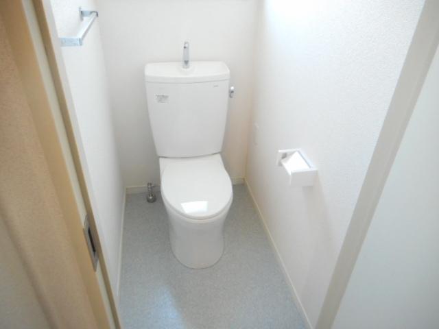 キャストロ鎌ヶ谷 202号室のトイレ