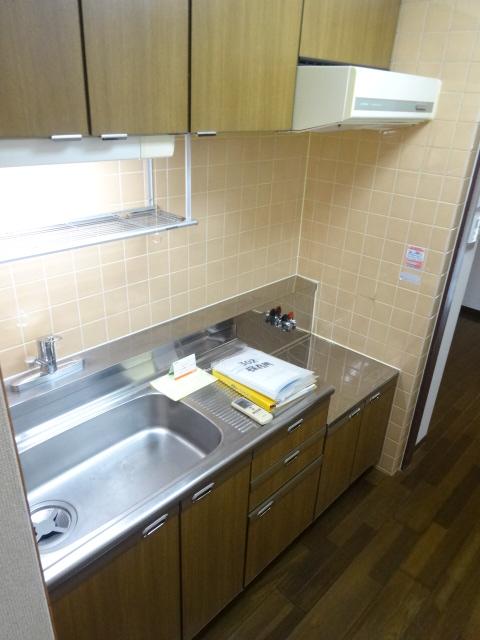 メゾンドール・カムイα館 102号室のキッチン