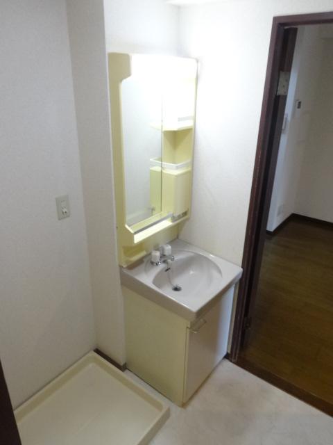 メゾンドール・カムイα館 102号室の洗面所
