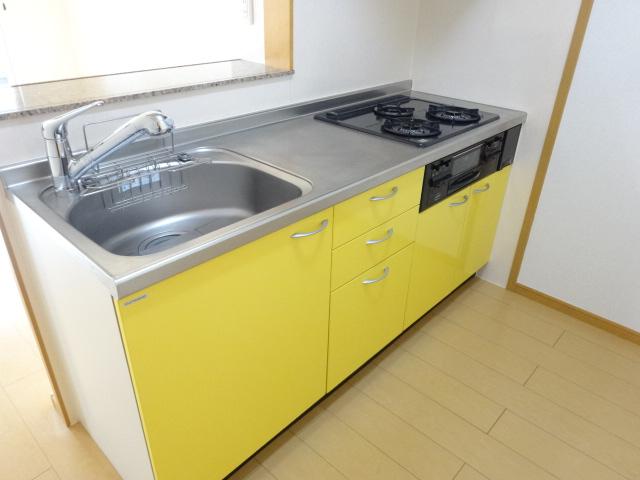 ルミナス・M 02030号室のキッチン