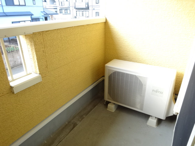 ルミナス・M 02030号室のバルコニー