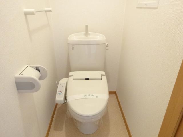 ルミナス・M 02030号室のトイレ
