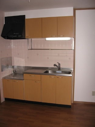 メゾンフロレスタ 02030号室のキッチン