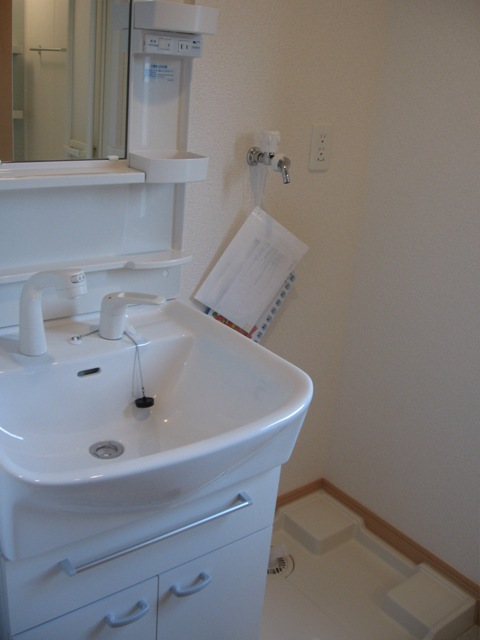 クレバーワンTHC 03010号室の洗面所